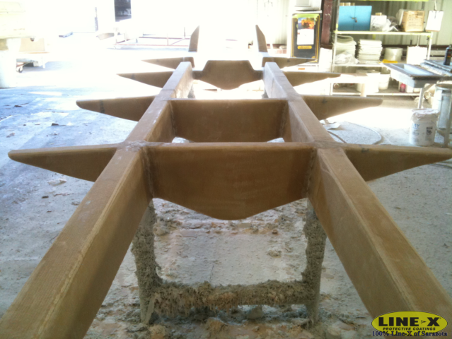 stringer system out of the mold